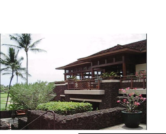 The Hualalai Grille: Entrance, Hualalai Grille