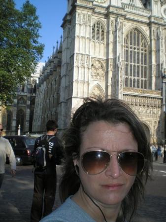 วิหารเวสต์มินสเตอร์: Westminster's Abbey al fondo