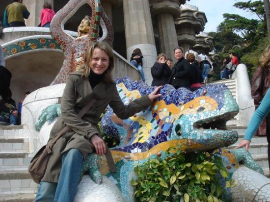 กูเอลปาร์ค: el dragón de gaudí- Bcn mar 06