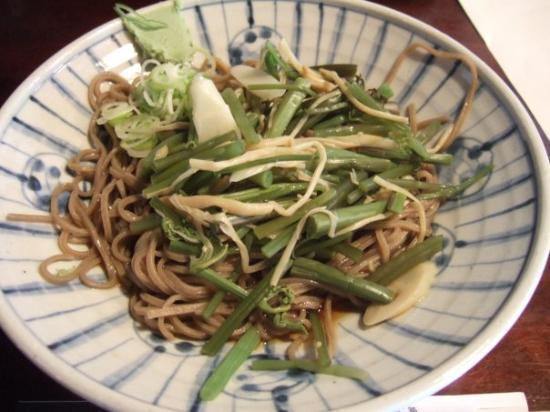 Nakatsugawa, ญี่ปุ่น: soba noodles