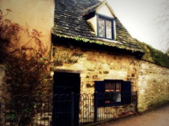อ๊อกซฟอร์ด, UK: A house on Parks Road