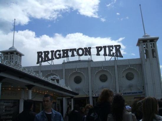 Brighton Palace Pier: Brighton Pier (l molo)