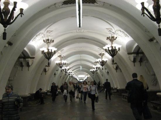 มอสโก, รัสเซีย: Moscow underground