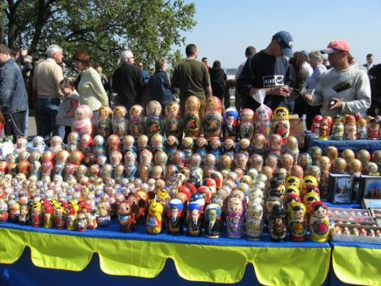 มอสโก, รัสเซีย: Russian Dolls