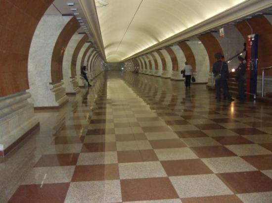 มอสโก, รัสเซีย: How clean is Moscow Underground!