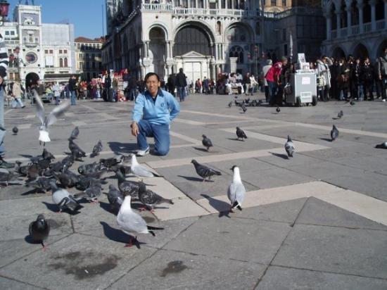 บาซิลิกาของเซนต์มาร์ค: Piazza San Marco