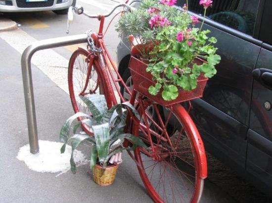 มิลาน, อิตาลี: Milan's version of a planter.