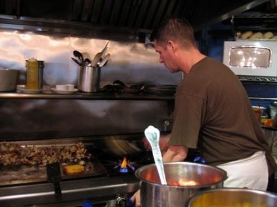 Dottie's True Blue Cafe: Cooking in Dottie's