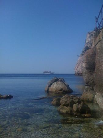 ดูบรอฟนิก, โครเอเชีย: Morning swim :)