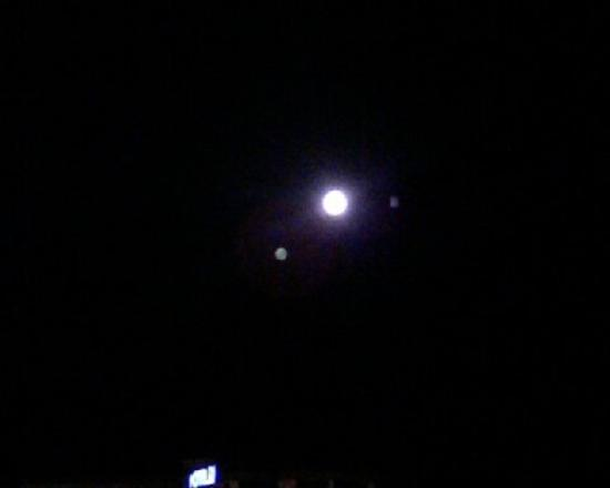 Lake Tahoe (Nevada), เนวาด้า: Ditto... Awesome. I don't think I've ever seen the full moon so bright!