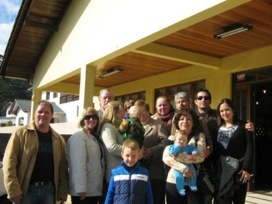 Sao Bento Do Sul: Almuerzo en Sandori - São Bento con la familia de Claus