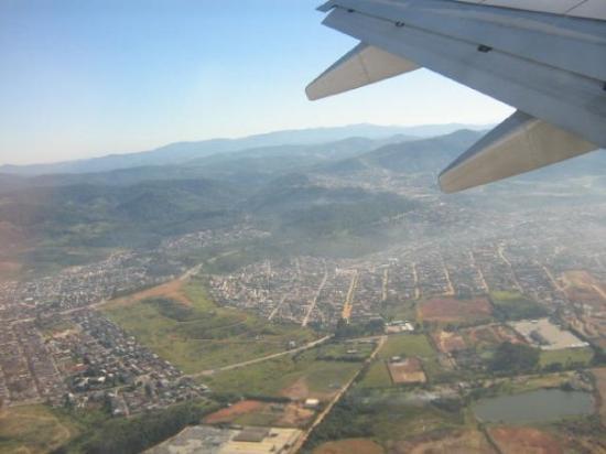Sao Bento Do Sul: Vista aerea de São Paulo