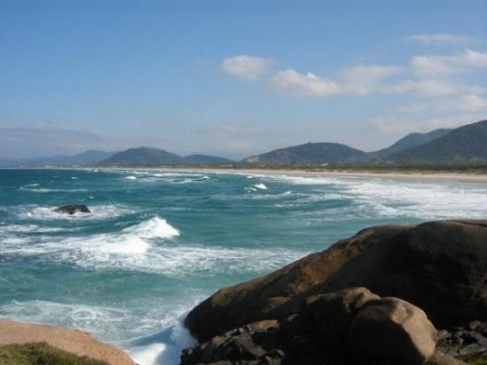 ฟลอเรียโนโปลิส: Praia da Joaquina- Florianopolis