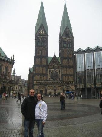 เบรเมิน, เยอรมนี: Rick and I in Bremen on a different day