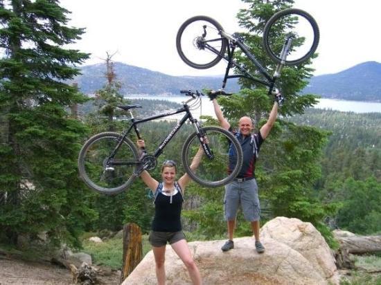 บิกแบร์เลก, แคลิฟอร์เนีย: Rick & I in Big Bear