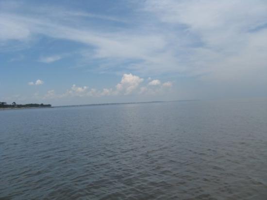เกาะเจคิลล์, จอร์เจีย: The coast of the other side of the island