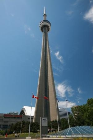 ซีเอ็นทาวเวอร์: CN Tower Toronto, nejvyšší budova na světě