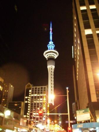 โอกแลนด์เซ็นทรัล, นิวซีแลนด์: Skytower in Auckland