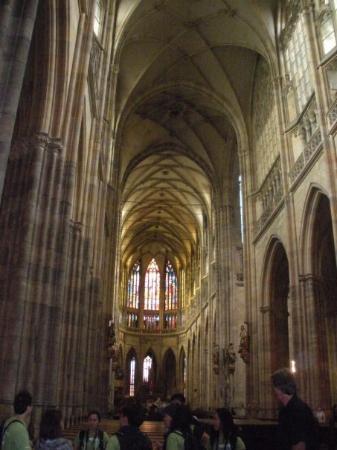 มหาวิหารเซนต์วิตุส: inside st. vitus