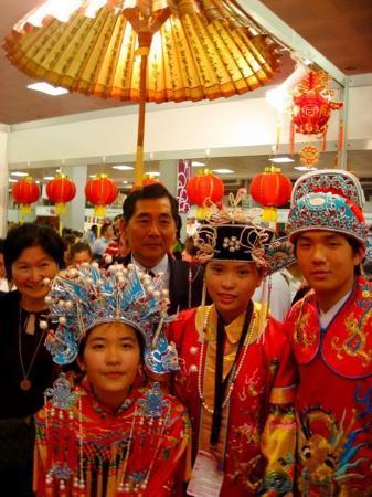 อังการา, ตุรกี: @Altın Park  30 May, 09 Türçe Olimpiyatı 土耳其語奧林匹亞競賽  Çin Geleneksel Düğün Kıyafeti-feng guan