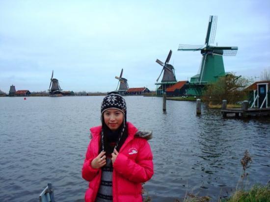 ซานดัม, เนเธอร์แลนด์: windmill