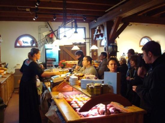 ซานดัม, เนเธอร์แลนด์: Cheese farm