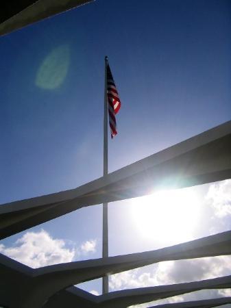 เพิร์ลฮาร์เบอร์: the memorial at Pearl Harbor
