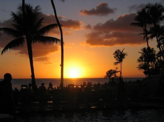 Waikiki Beach: Waikiki Sunset