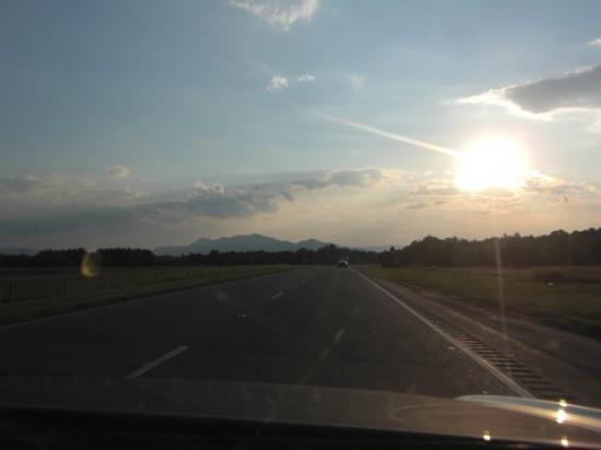 Rutherfordton, นอร์ทแคโรไลนา: Blue Ridge Mountains