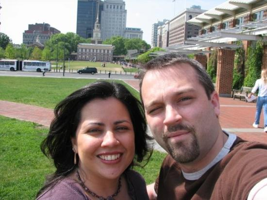 Independence Hall: Us in Philadelphia