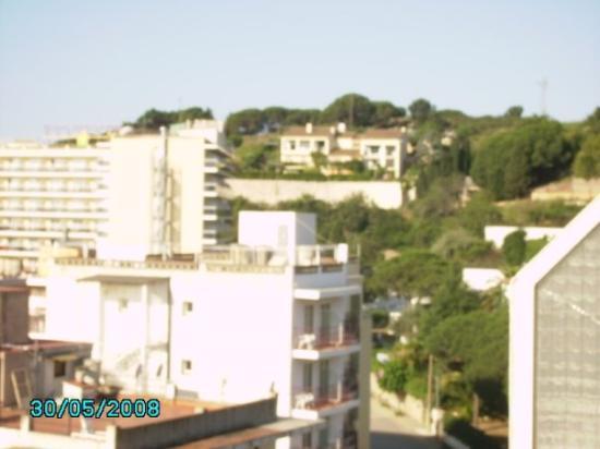 แคเลลา, สเปน: utsikt från hotellrummet, 7 våningen