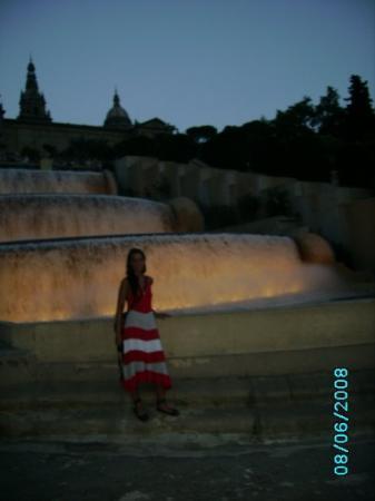 แคเลลา, สเปน: jag vid fontänen,här skulle an tagit ett dopp!