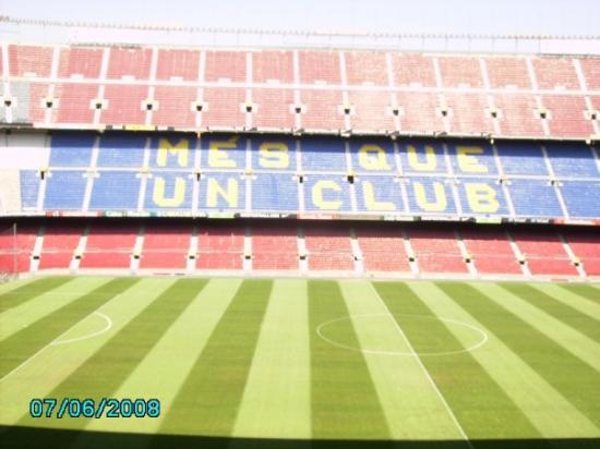 แคเลลา, สเปน: camp nou! mäktigt!!!