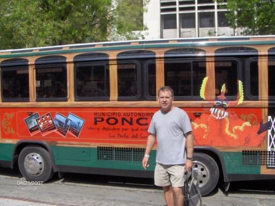 ปอนเซ, เปอร์โตริโก: Ponce bus tour