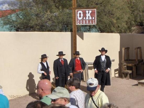 O.K. Corral: OK Corral gunfighters