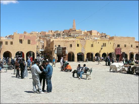 غرداية, الجزائر: place du marché de Ghardaia