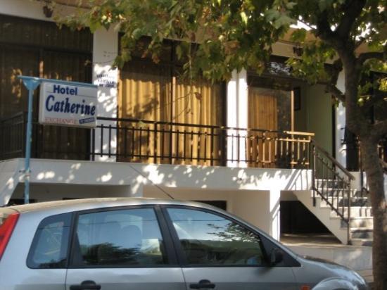 Kos Town, กรีซ: Hotellet der vi bodde! Mulig det ikke kan kalles hotel engang!