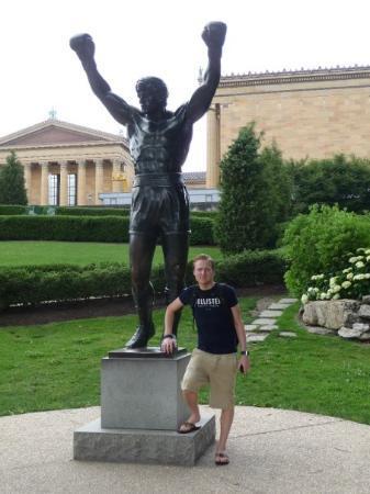 Rocky Statue: Philadelphia - Rocky :)