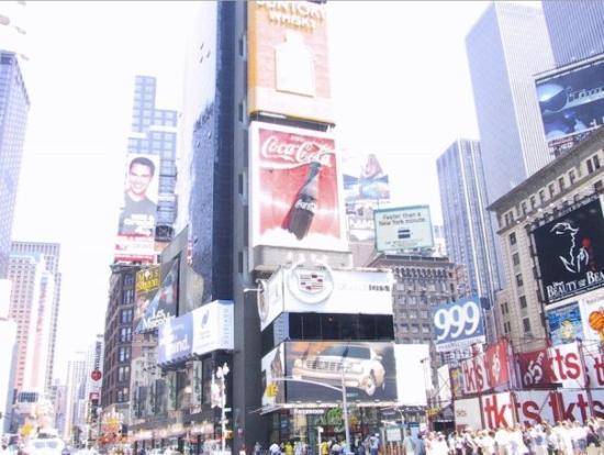 จตุรัสไทม์ส: Times Square, NYC July 2000.