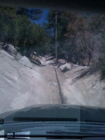 Green Valley Lake, แคลิฟอร์เนีย: Hold on!