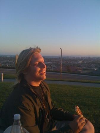 ลองบีช, แคลิฟอร์เนีย: My 18 year old son, Aaron