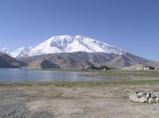 Kashi, จีน: 冰川之父 - 慕仕格塔峰 + 卡拉庫里湖