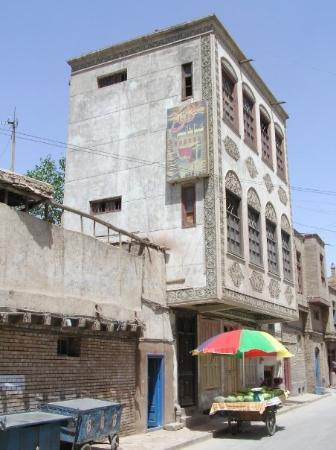 Kashgar, จีน: 仿如在中東地方