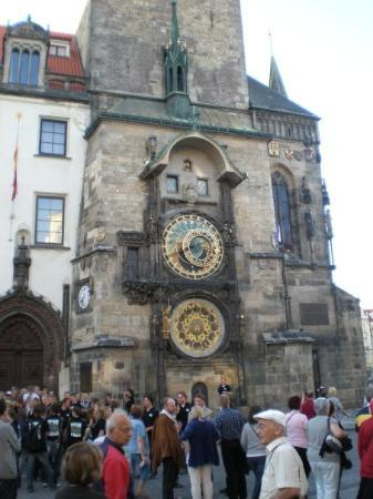 Old Town Hall with Astronomical Clock: The astronomical clock