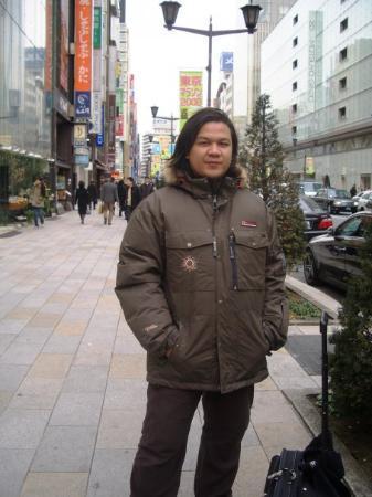 Ginza Mitsukoshi: So Freezing, the weather!