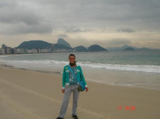 Copacabana Beach: rio de janeiro