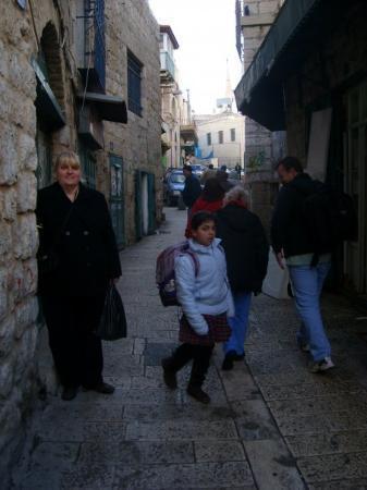 เยรูซาเล็ม, อิสราเอล: Me in the streets of Bethlehem.