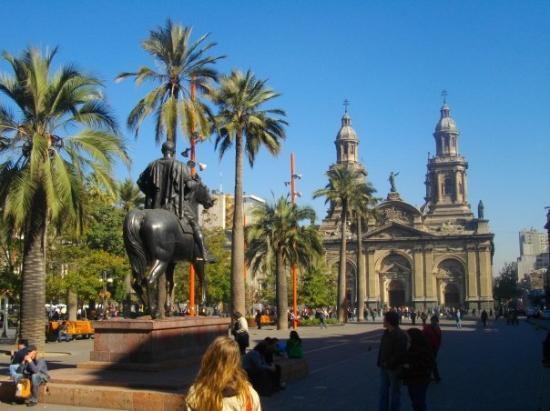 ซันเตียโก, ชิลี: Santiago de Chile - Plaza de Armas, Catedral