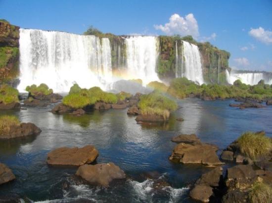 ฟอสโดอีกวาซู: Chutes d'Iguaçu- côté brésilien