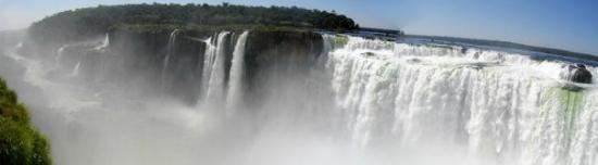 ฟอสโดอีกวาซู: Chutes d'Iguaçu, gorge du diable - côté argentin